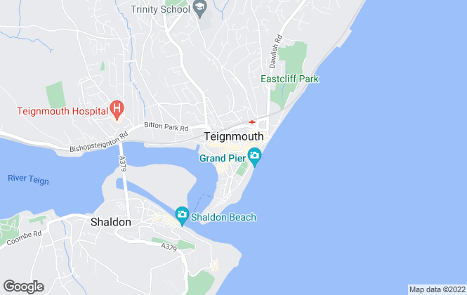 Map for Complete Signature Homes, Teignmouth