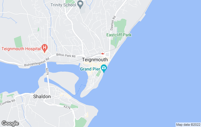 Map for Fulfords, Teignmouth