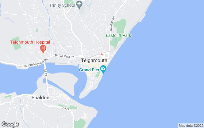 Map for Dart & Partners, Teignmouth