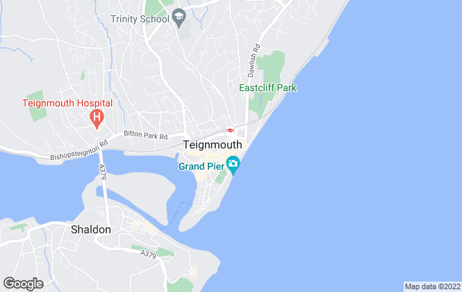 Map for Force and Sons, Teignmouth