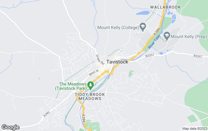 Map for Miller Town & Country, Tavistock