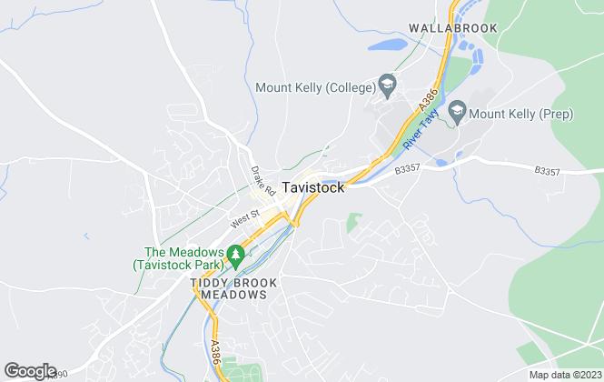 Map for Gibbs Kirby, Tavistock