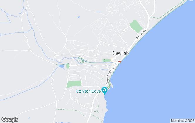 Map for Hunters, Dawlish