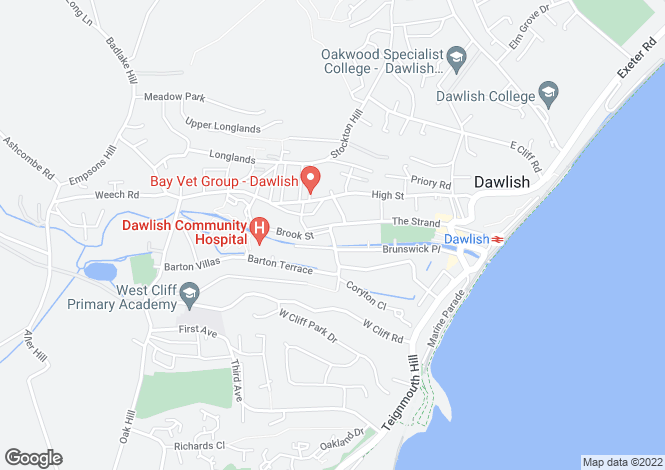 Map for Dawlish