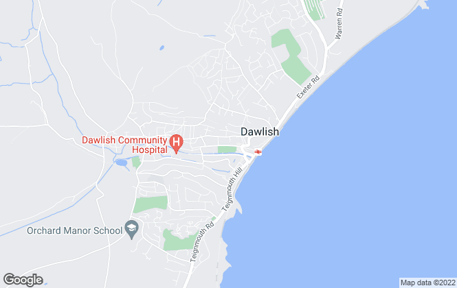 Map for Fulfords, Dawlish