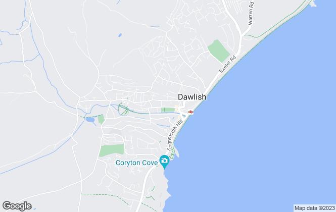 Map for Fulfords, Dawlish