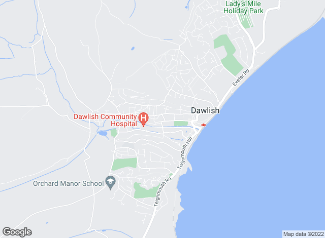 Map for Force and Sons, Dawlish
