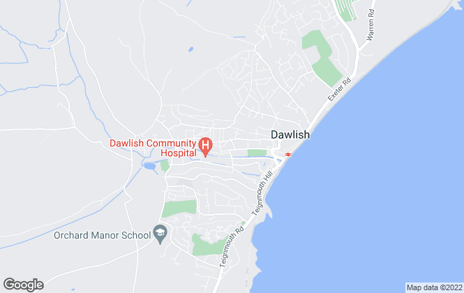 Map for Devon Rose, Dawlish