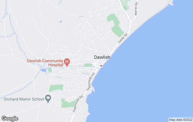 Map for Underhill Real Estate Agents, Dawlish