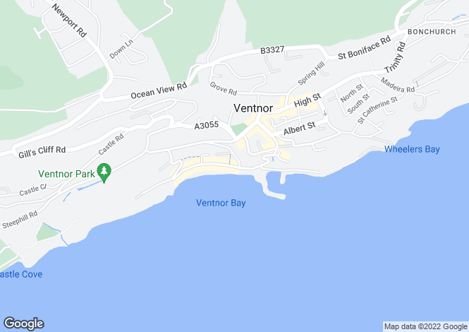 Map for Esplanade, Ventnor