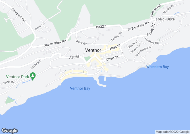 Map for VENTNOR