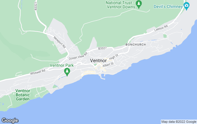 Map for Webb Jenkins , Ventnor