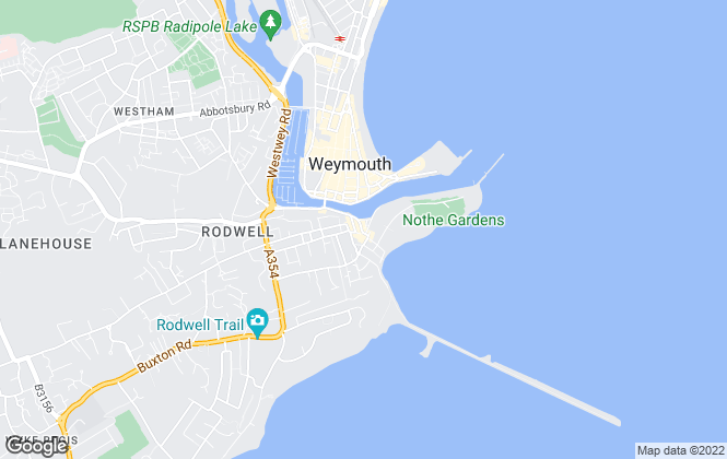 Map for Avenue Sales & Lettings, Weymouth