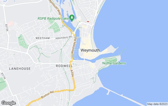 Map for Cornerstone Estates, Weymouth