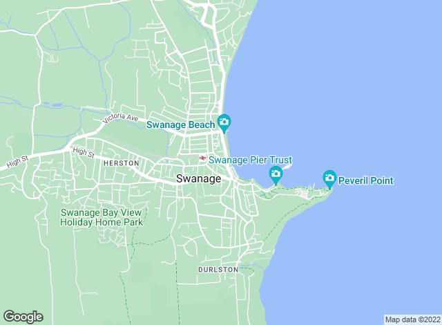 Map for Goadsby, Swanage