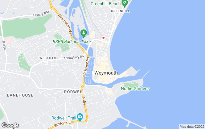 Map for Dorset Property, Weymouth