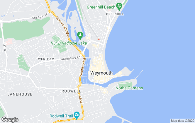 Map for Roger McGhee Estate Agents , Weymouth