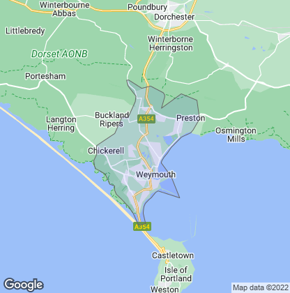 Map of property in Weymouth