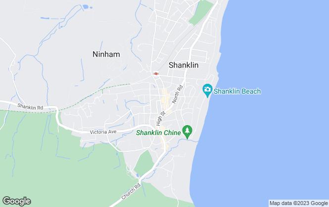Map for Arthur Wheeler Estate Agents, Shanklin