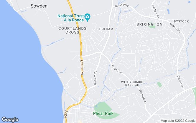 Map for 247 Property Auctions , Exmouth