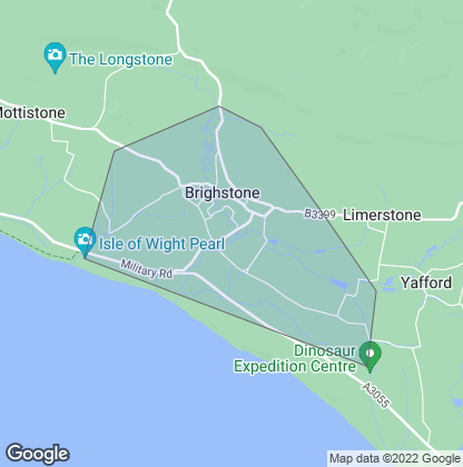 Map of property in Brighstone