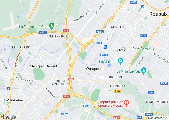 Map for MARCQ EN BAROEUL, MARCQ EN BAROEUL ,France