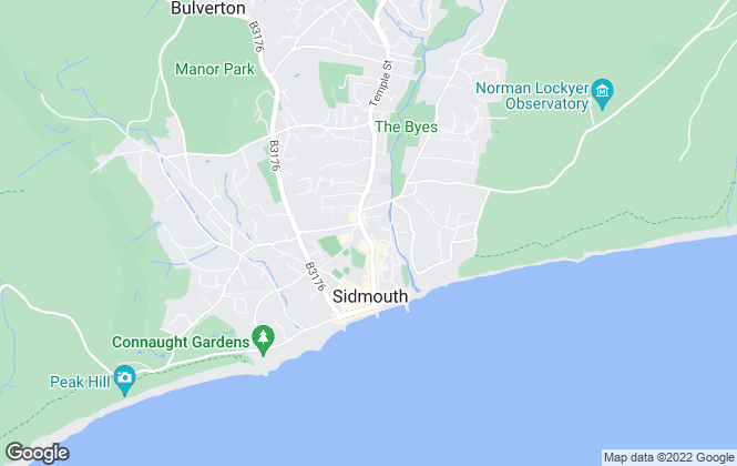 Map for YOUR MOVE - Edwards, Sidmouth