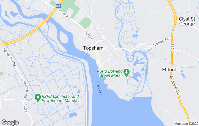 Map for Urpad, Topsham