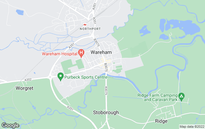 Map for Booth Gadenne, Wareham