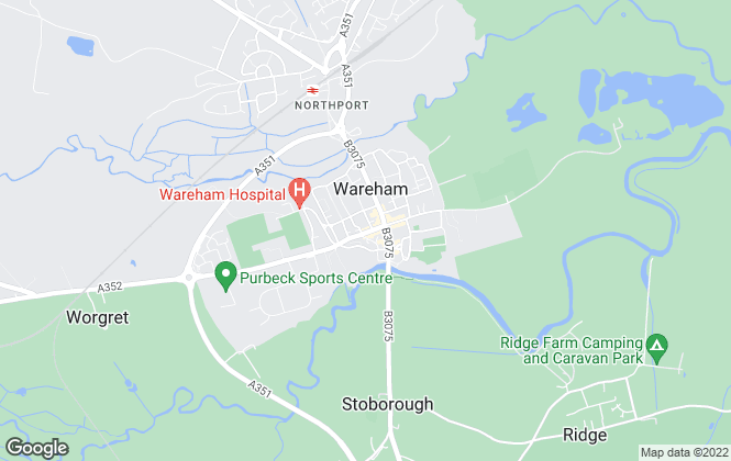 Map for Goadsby, Wareham - Lettings