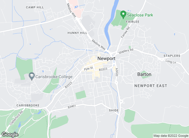 Map for Pittis, Newport