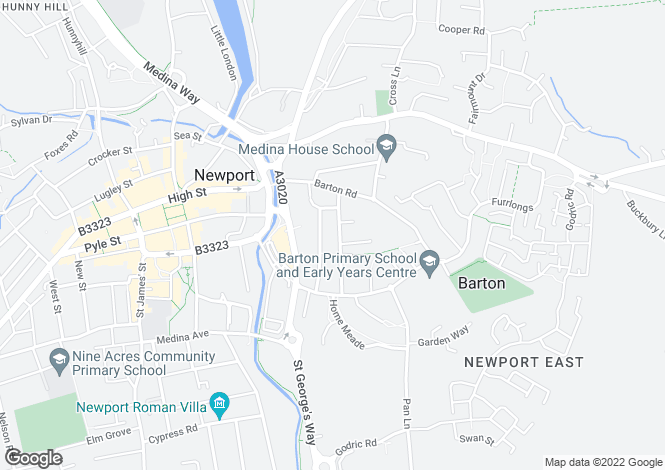 Map for Robin Hood Street,
