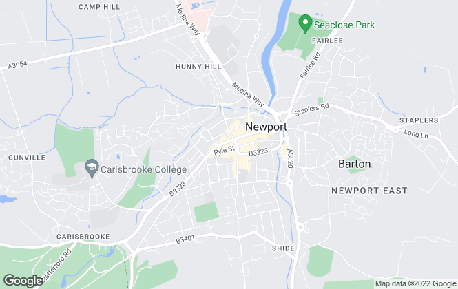 Map for The Wright Estate Agency, Newport