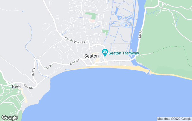 Map for Fortnam Smith & Banwell, Seaton