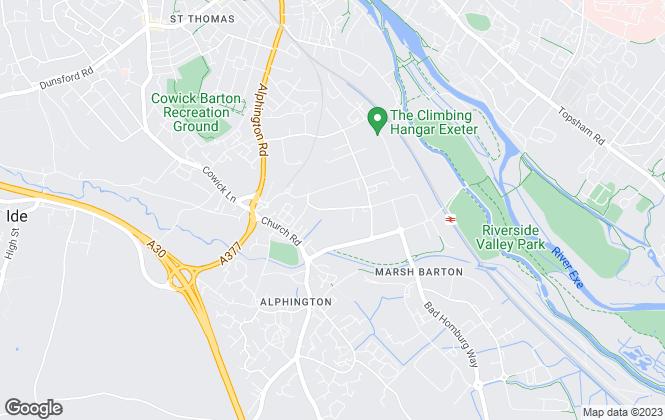 Map for Oakleaf Exeter, Oakleaf Homes