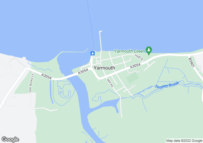 Map for Yarmouth