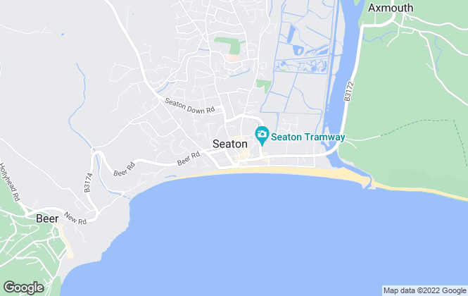 Map for Fulfords, Seaton