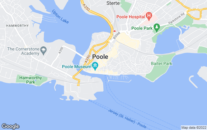 Map for Quay Living, Poole - Lettings