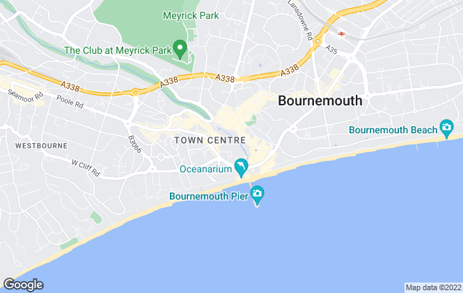 Map for Portfolio Lettings Experts , Bournemouth, Lettings