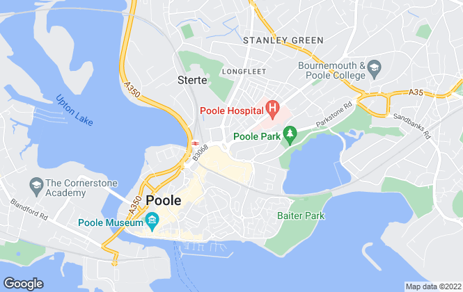 Map for James & Sons, Poole