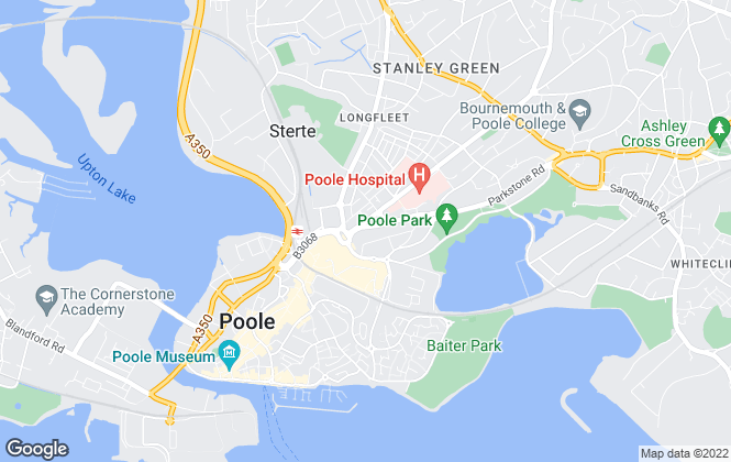 Map for Go Let Properties Ltd, Bournemouth