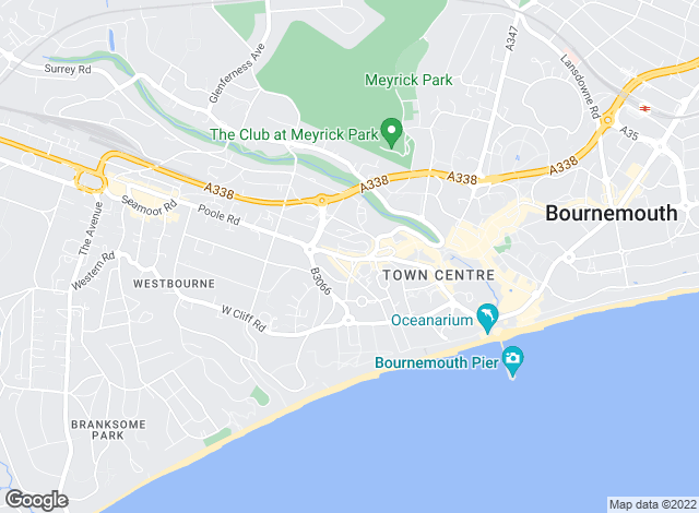 Map for WestCliff Estates, Bournemouth - Lettings