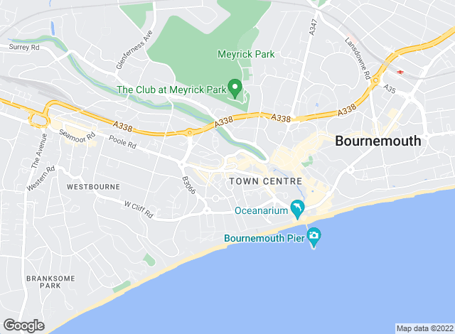 Map for Homes & Steeple , Bournemouth