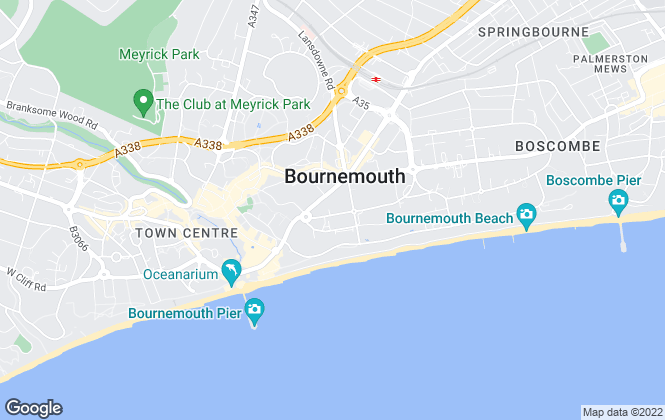 Map for Rightletts, Bournemouth