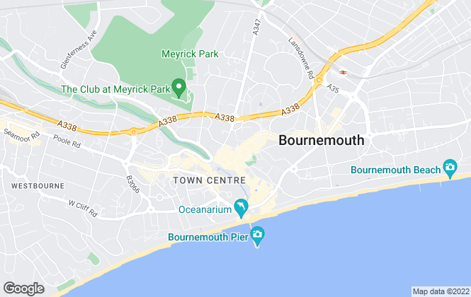 Map for Christopher Shaw Residential, Bournemouth - Sales