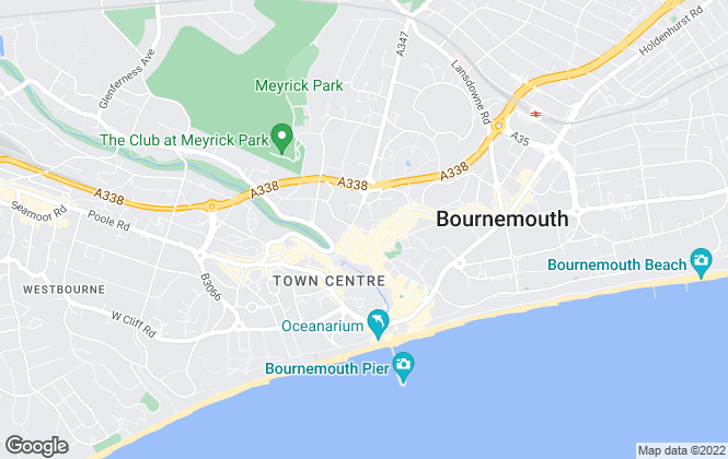 Map for Christopher Shaw Residential, Bournemouth
