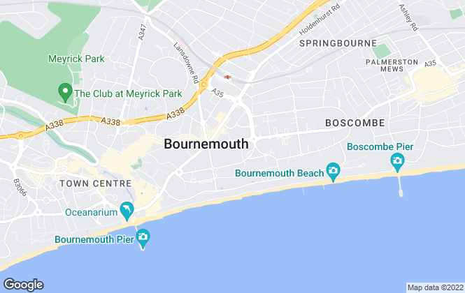 Map for House & Son, Bournemouth - Sales