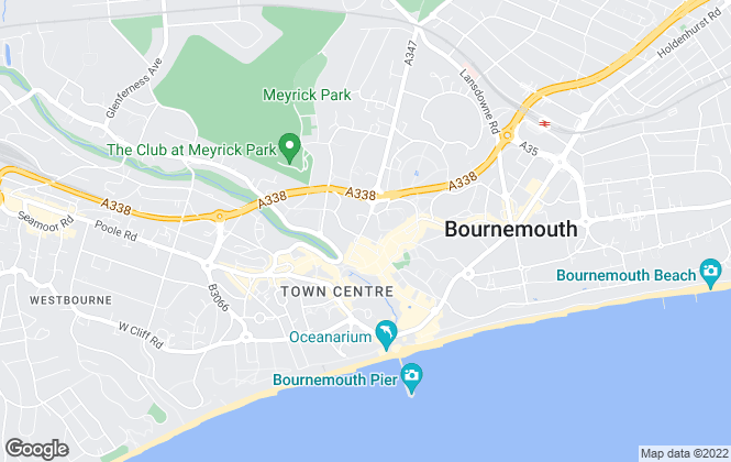 Map for LetMe Property, Bournemouth