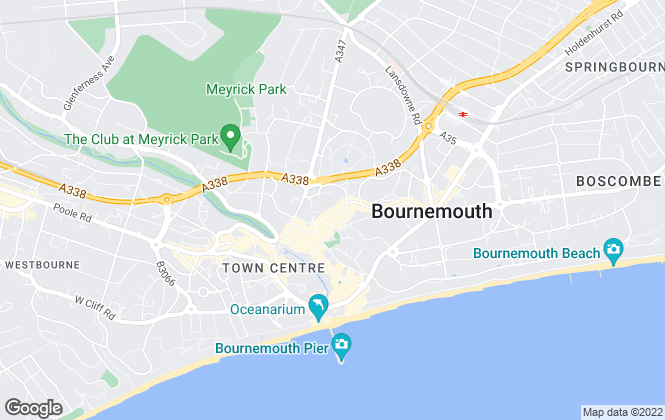 Map for Austin & Wyatt, Bournemouth