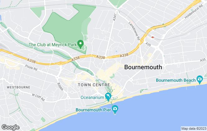 Map for Nettleship Sawyer, Bournemouth